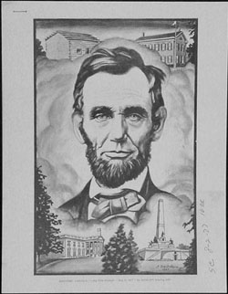 Lincoln Related President Abraham Lincoln With Beard